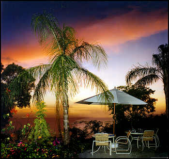 Guana Island's Sunset Terrace