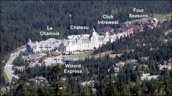 hotels at the base of blackcomb